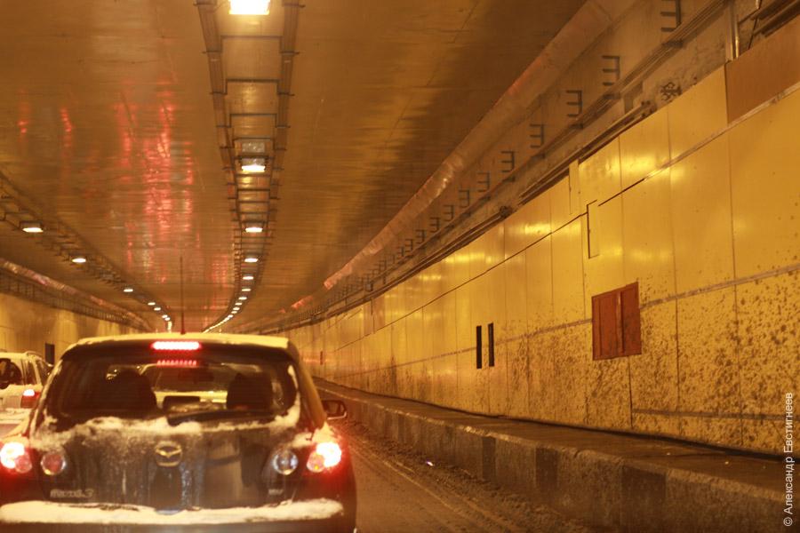 тоннель на волоколамке